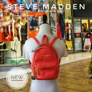 ※NEW※ FALL STEVE MADDEN CORAL BACKPACK PURSE